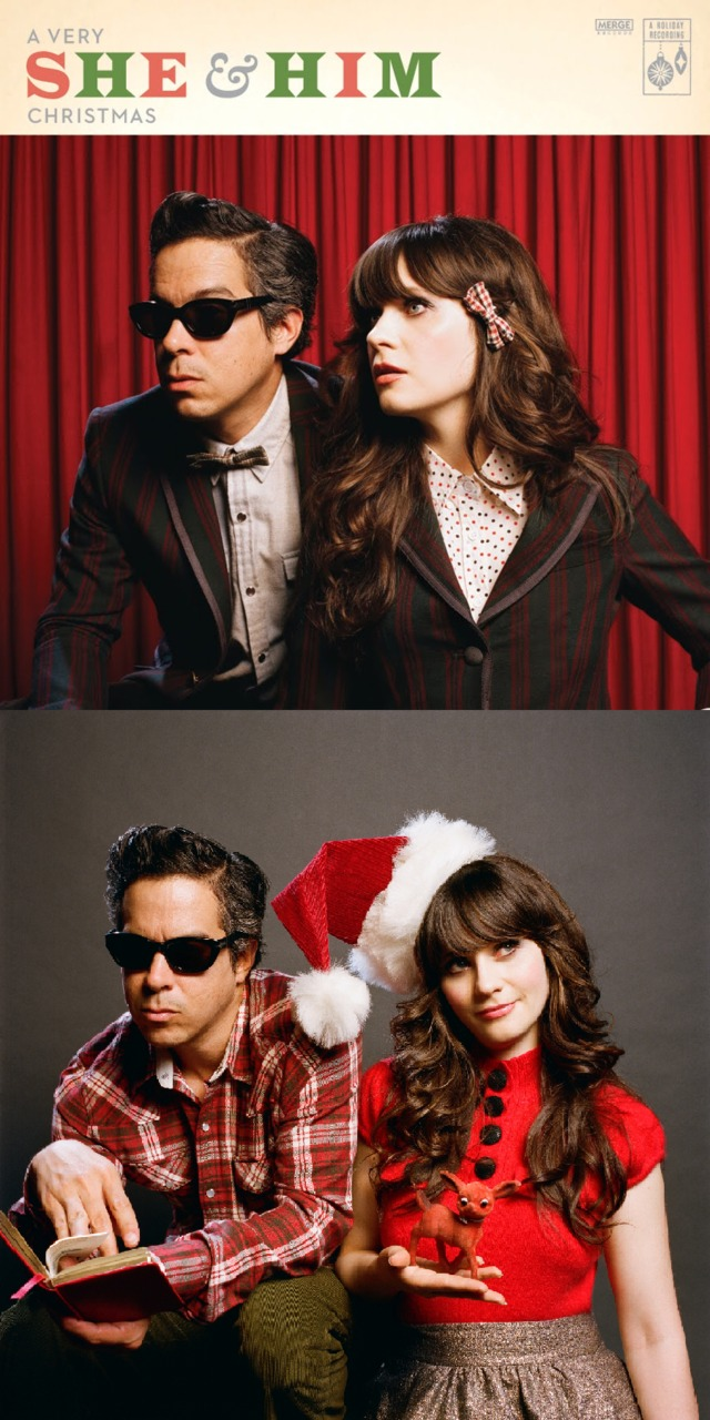 She & Him Release A Tolerable Christmas Album – grass clippings ...
