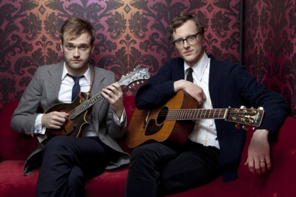 Chris Thile and Michael Daves Play Lincoln Center's Allen Room