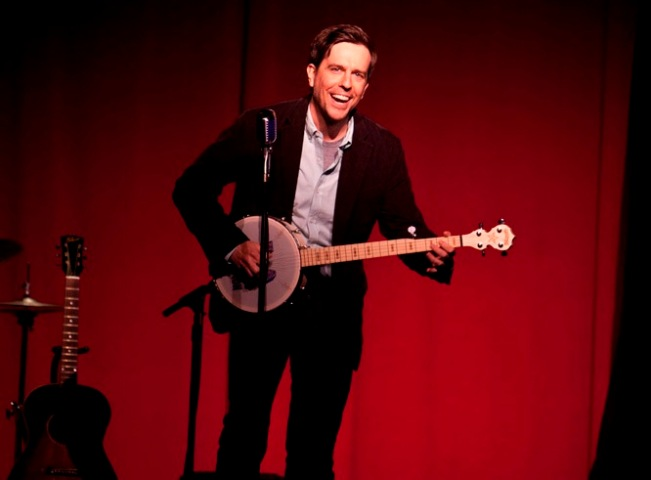 Ed Helms at the 3nd annual L.A. Bluegrass Situation