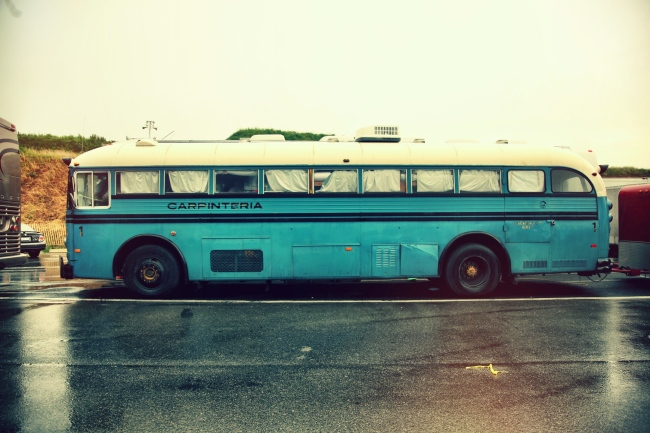 Blind Pilot's Tour Bus