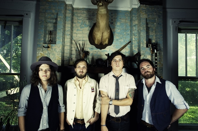 Nashville's The Wild Feathers play Rockwood Music Hall on Wednesday, July 10. (Photo by John Peets)
