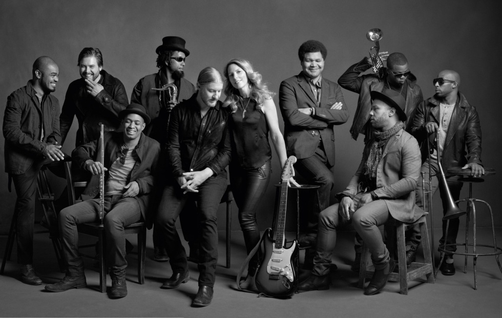 Tedeschi Trucks Band - Photo by Mark-Seliger