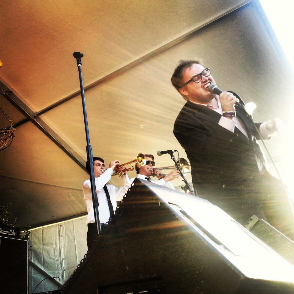 St. Paul and The Broken Bones - Photo by Garland Harwood/grass clippings blog