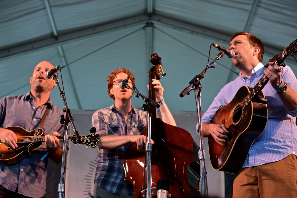 The Lonesome Trio at Newport Folk Fest 2014.
