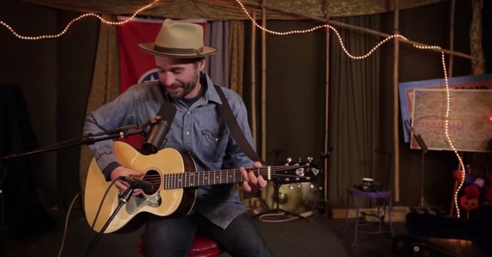 Joe Fletcher - Screengrab from Live & Breathing