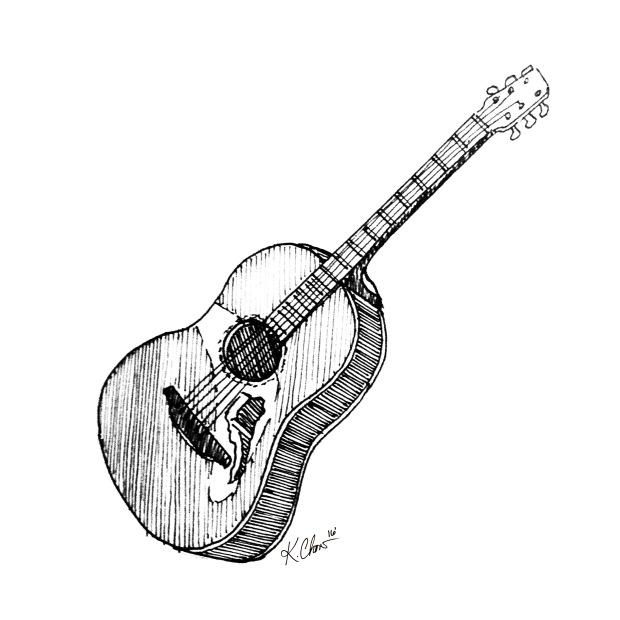 Day 3_Glen Hansard Guitar_worn away_Fort Stage